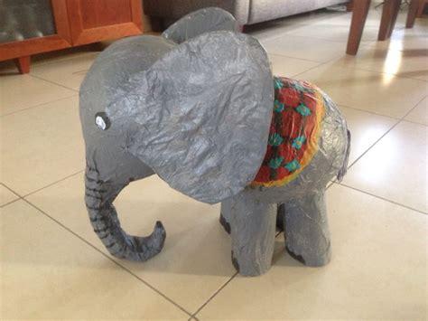 olifant knutselen van papier mache olifant knutselen