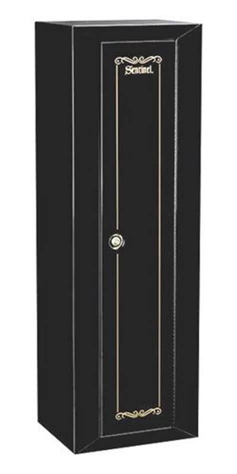 Sentinel Gun Cabinet Replacement Key by Sentinel 10 Gun Black 1 Door Security Cabinet With Key