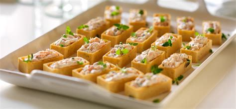 nibbles and canapes philadelphia recipe smoked salmon canapes with