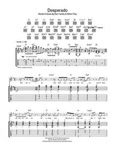 Desperado Piano Sheet Music
