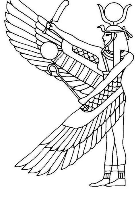 dei egizi da colorare az colorare