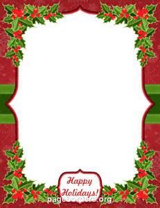 Happy Holidays Border Clip Art