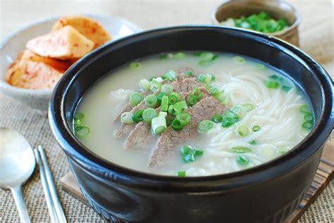 seolleongtang beef bone soup keeprecipes