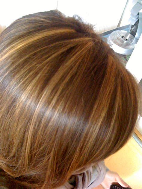 couleur de cheveux caramel avec meche