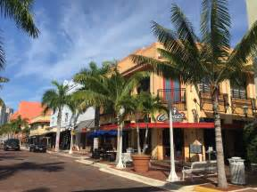 Downtown Fort Myers Florida
