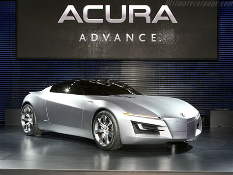 2007 Acura Advanced Sports Car Concept 01 Fotos De Carros