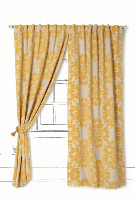 Yellow And Grey Curtains Walmart by Curtains Curtains
