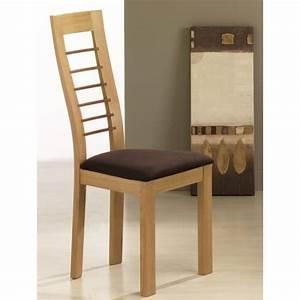 chaise en bois contemporaine cannelle With salle À manger contemporaine avec chaise en bois pour salle À manger