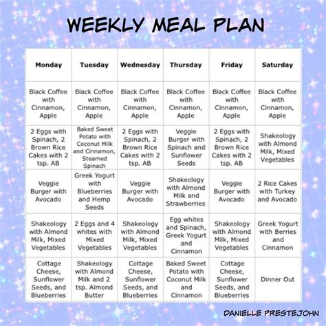 weekly meal plan gluten free vegetarian friendly 21 day
