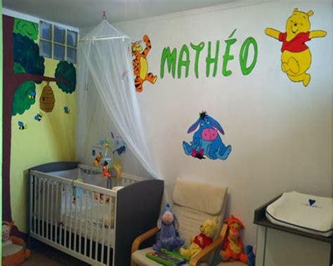chambre bebe winnie decoration chambre bébé winnie l 39 ourson bébé et