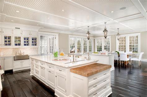 white kitchen grand manor  greenwich conn hgtv