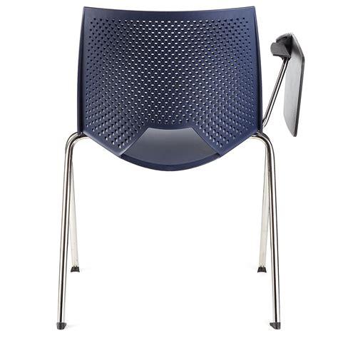 sedia scrittoio sedia per sala d attesa enzo con scrittoio colore