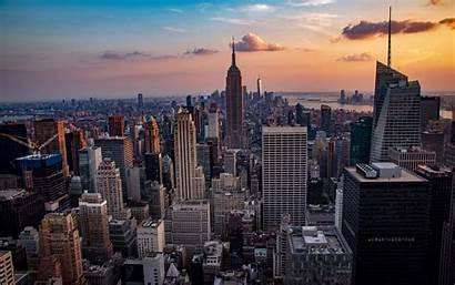 York Cityscape Buildings 4k Ultra Widescreen