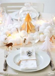 DIY Tuto Dcoration De Table De Nol Enchant Madame