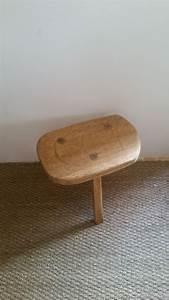 Tabouret Bois Brut : tabouret ancien bois brut luckyfind ~ Teatrodelosmanantiales.com Idées de Décoration