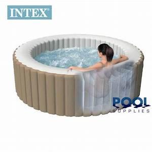 Spa Intex Avis : notre test du spa gonflable 4 places d 39 intex le haut de ~ Melissatoandfro.com Idées de Décoration