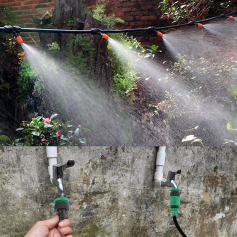 irrigazione terrazzo irrigazione a goccia kit sistema da vasi tubo