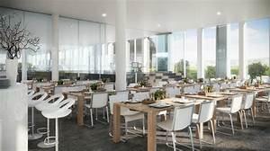 White dining room interior design ideas dining room office for Interior design living dining room combination