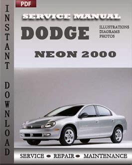 car service manuals pdf 1995 dodge neon seat position control dodge neon 2000 free download pdf repair service manual pdf