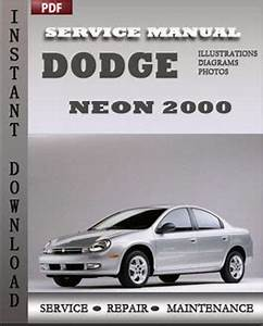 Service manual [2001 Dodge Neon Workshop Manual Free