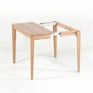 Table Bois Massif Contemporaine : console extensible contemporaine en bois massif buzz 4 pieds tables chaises et tabourets ~ Teatrodelosmanantiales.com Idées de Décoration