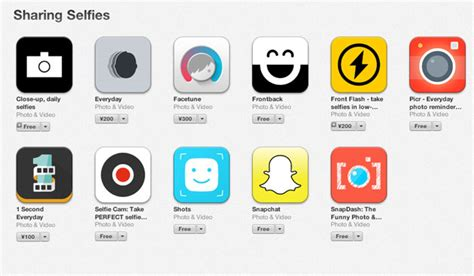 selfie app for iphone apple adds a dedicated selfie section to its ios app