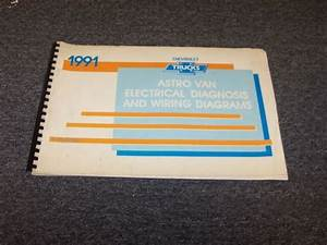 1991 Chevy Astro Van Factory Electrical Wiring Diagram