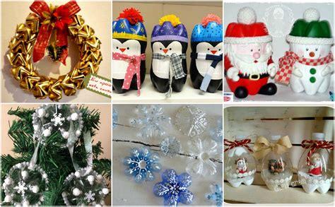 bastelideen mit plastikflaschen weihnachtliche bastelideen mit plastikflaschen einfache ideen f 252 r kinder nettetipps de