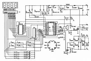 Massage Digital Display Circuit Under Display Circuits