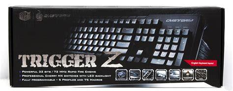 CM Storm Trigger Z Mechanical Keyboard Review | Play3r ...
