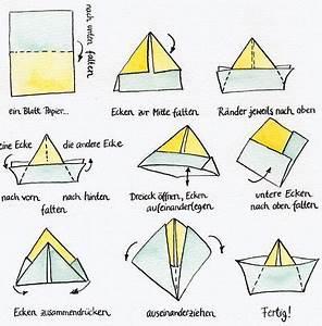 Wie Falte Ich Servietten : papierschiffchen basteln dansenfeesten ~ Eleganceandgraceweddings.com Haus und Dekorationen