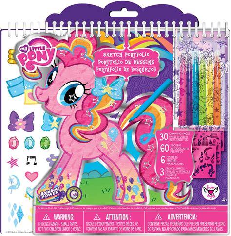 pony sketch portfolio art set toys games arts crafts drawing coloring