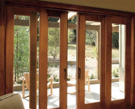 sliding french doors  warping patented honeycomb patio
