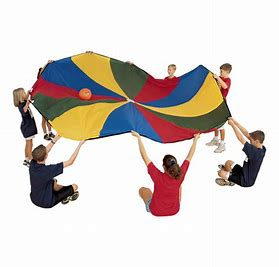 Image result for Parachute Play Clip Art