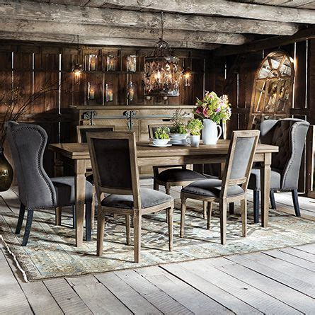 """Luciano 54"""" Rectangle Dining Table With Refectory Leaves"""
