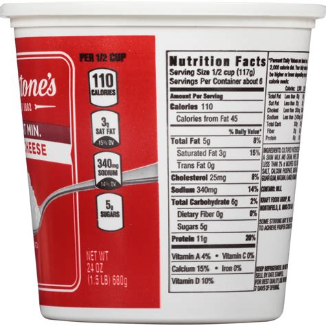 Nutrition In Cottage Cheese 28 Images Breakstone Free