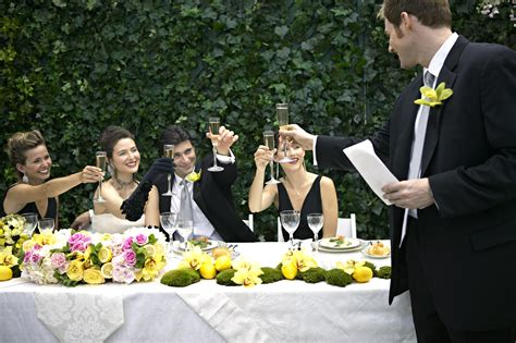 How To Write And Deliver A Great Wedding Toast