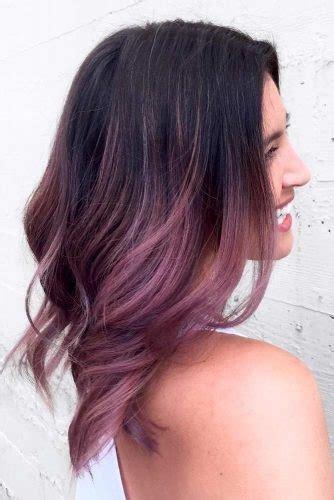 cheveux lilas avec  gout en chocolat les  beaux