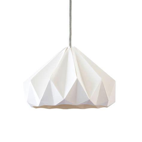 suspension pour chambre fille suspension origami chestnut blanche studio snowpuppe pour