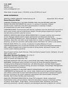 Resumes Example Of A Federal Government Resume A Federal Resume Sample Accounting Manager Federal Resume Sample Government Resume Format 833 Resume Samples CareerProPlus