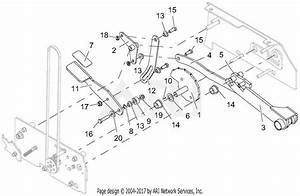 Gravely 994127  041000 -   Pro-stance 48 Carb Parts Diagram For Deck Lift
