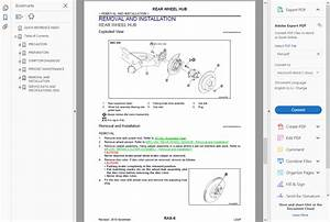 Factory Workshop Service Repair Manual Nissan Leaf 2010