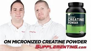 Optimum Nutrition Micronized Creatine Powder Review - Supplementing Com