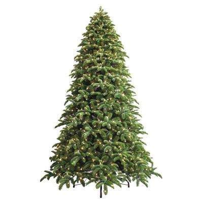 a noble or douglas fir 7ft led tree artificial trees trees the home depot