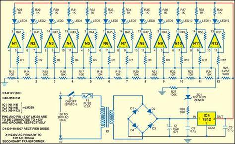 Visual Mains Voltage Indicator Electronic Circuits
