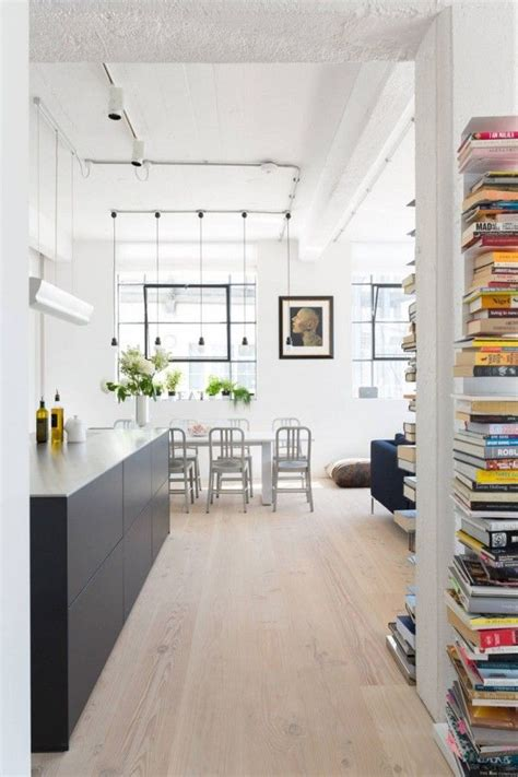Converted Industrial Space Becomes A Pretty Apartment converted industrial space becomes a pretty
