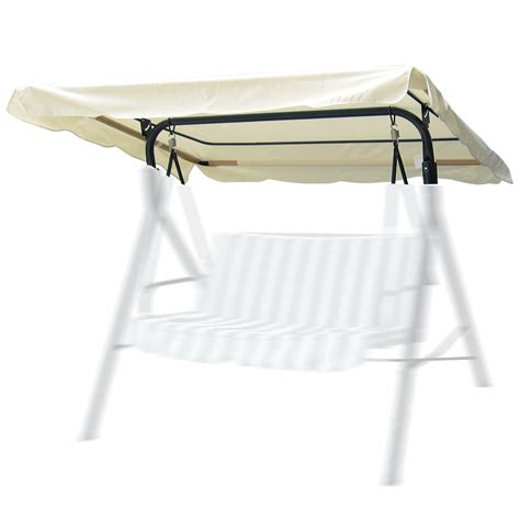 topper canap patio swing canopy top cover replacement outdoor garden