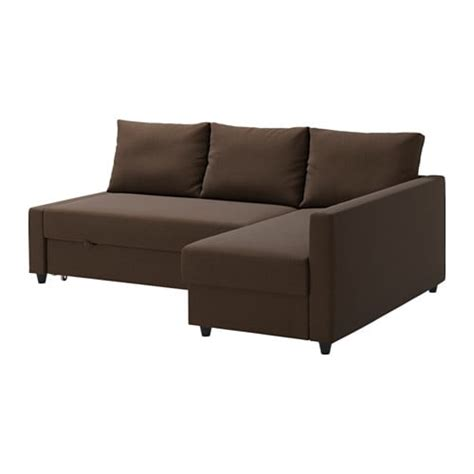 chaise sleeper sofa friheten sofa bed with chaise skiftebo brown ikea