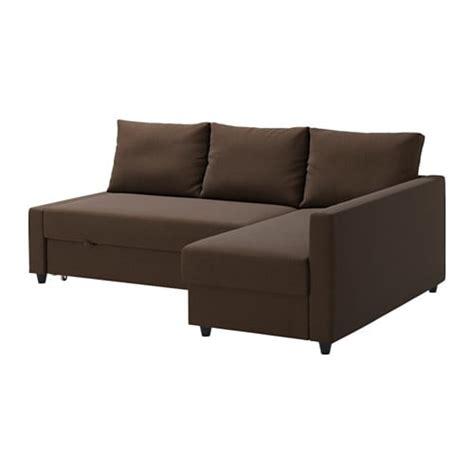 canape futon ikea friheten corner sofa bed skiftebo brown ikea