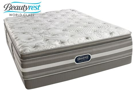 beautyrest recharge mattress beautyrest 174 recharge 174 world class 174 jaelyn plush pillow